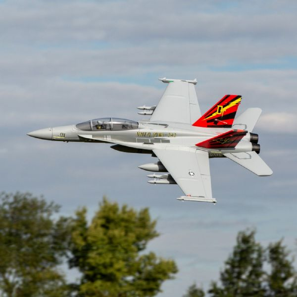 E-Flite F-18 Hornet 80mm EDF BNF with AS3X + SAFE